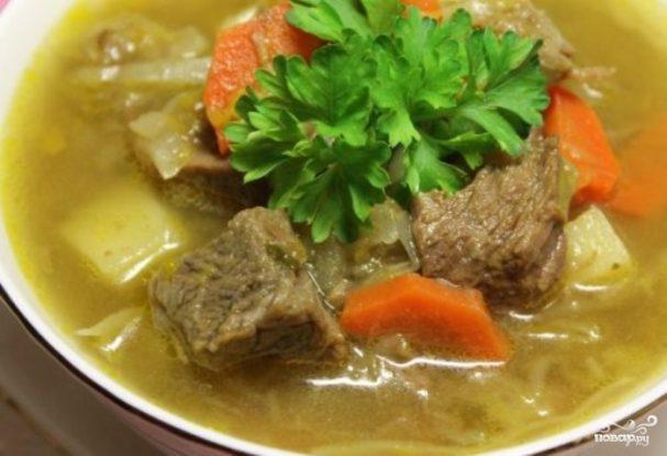 Рецепт вкусный суп из говядины с фото пошагово