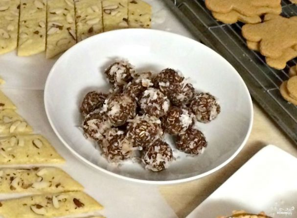 Шведские шоколадные шарики