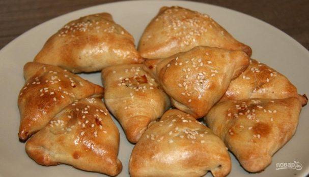 Самса узбекская слоеная с мясом