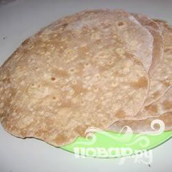 Пшеничные шарики-лепешки