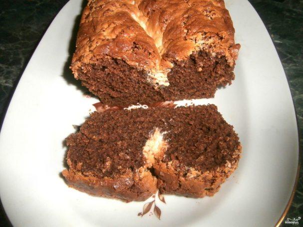 Пирог с халвой