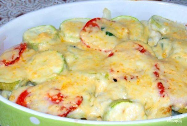 Запеченные овощи в духовке с сыром рецепты
