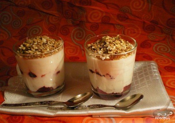 Десерт в стаканчиках