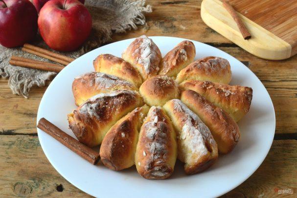 Яблочный отрывной пирог