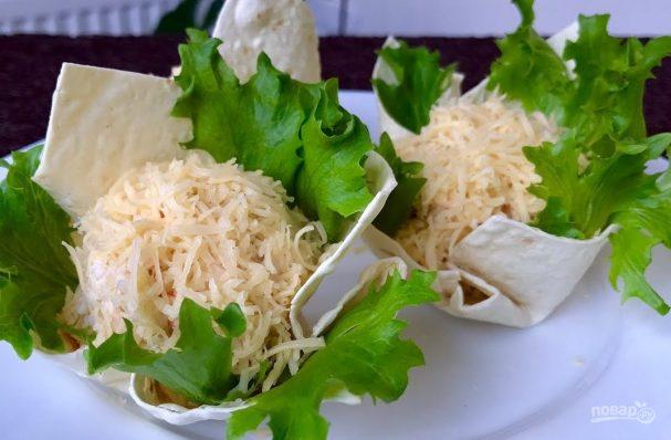 """Вкусный салат """"Морская жемчужина"""""""
