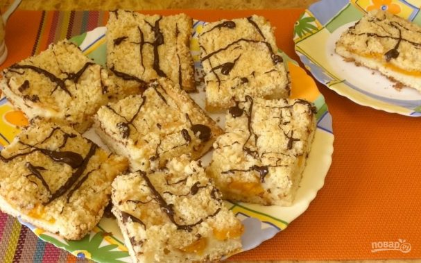 Восхитительные персиковые пирожные