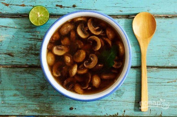 Мексиканский грибной суп