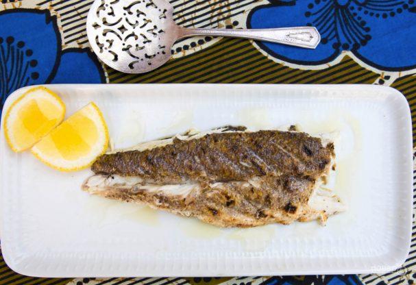 Рыба барбекю