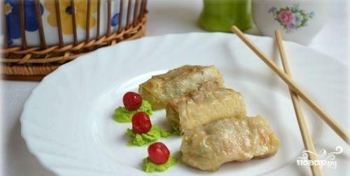 Голубцы из китайской капусты