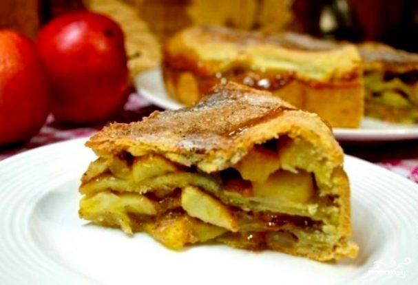Яблочный пирог в духовке