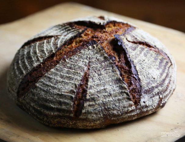 Хлеб ржаной пшеничный