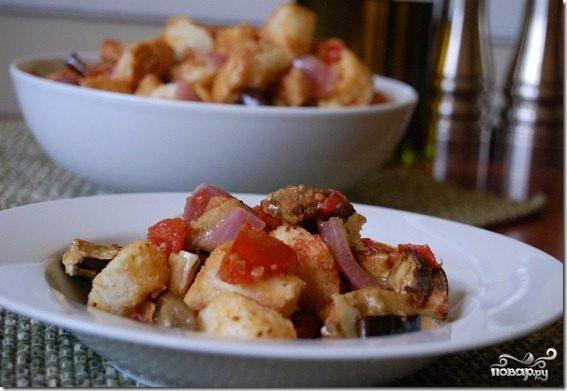простой салат из баклажанов рецепт