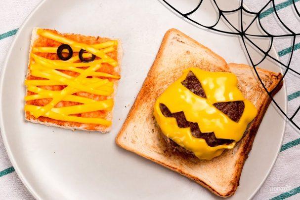 Сэндвичи на Хэллоуин
