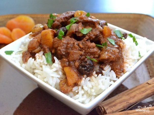 Мясо по-мароккански
