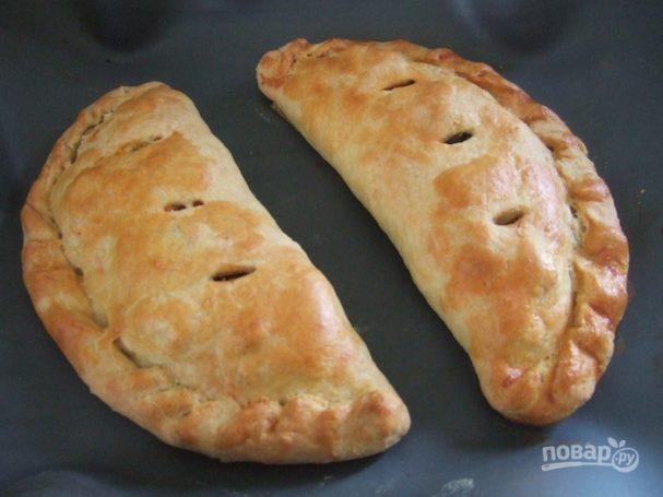 Пирожки с картофелем и шампиньонами