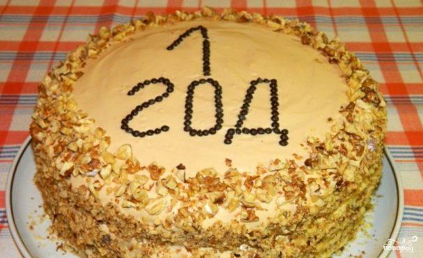 Торт на день рождения девочке 1 год