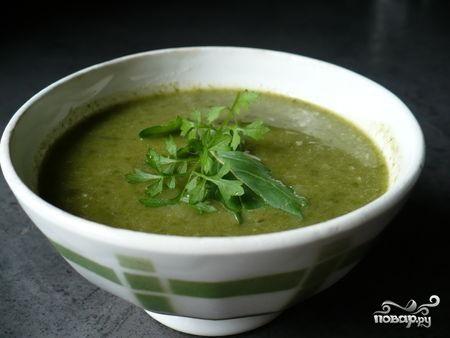 Суп из замороженного щавеля