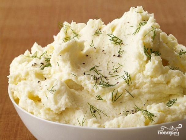 Картофельное пюре быстрого приготовления