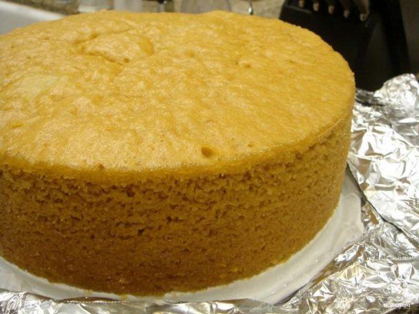 Рецепт бисквита с кукурузным крахмалом