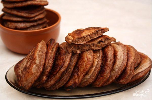 Шоколадные блинчики за 5 минут