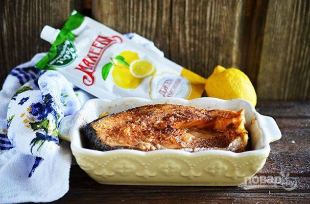 """Лучший рецепт лосося в лимонном маринаде """"Махеевъ"""""""