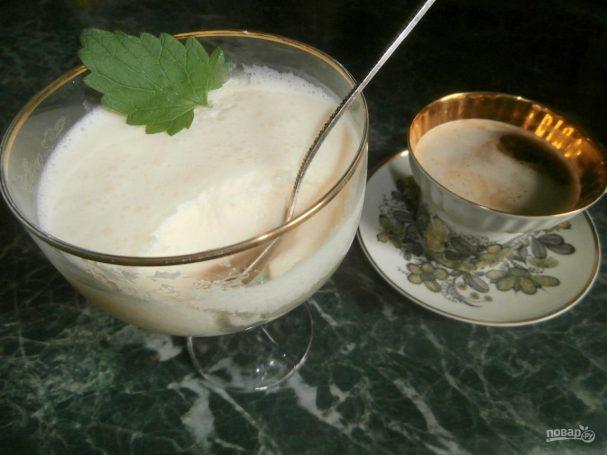 Молочный десерт для детей (вместо мороженого)