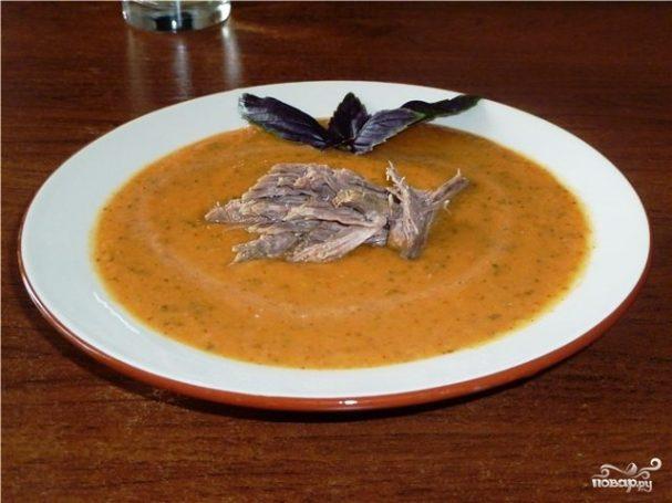 Суп-пюре с мясом