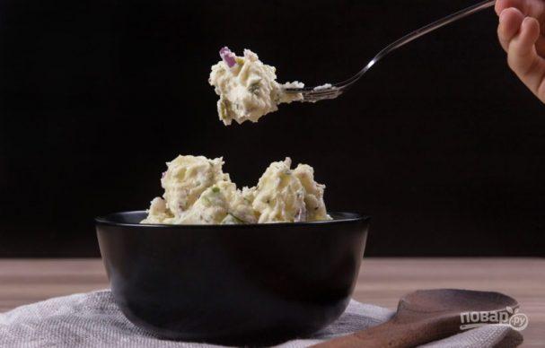 Салат из картофеля