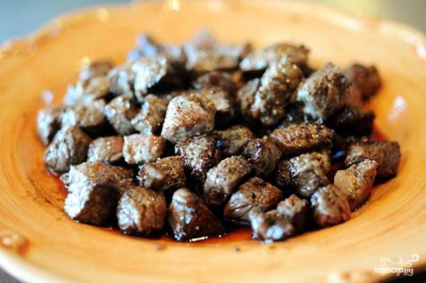 Жареная говядина традиционная