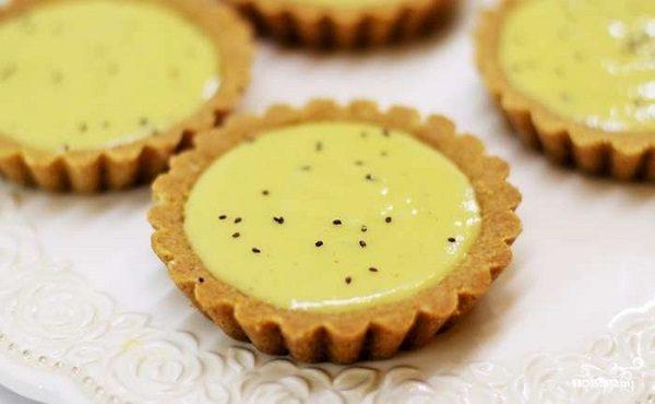 Тарталетки с лимонным курдом
