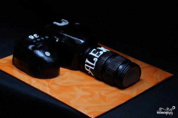 """Торт """"Фотоаппарат"""""""