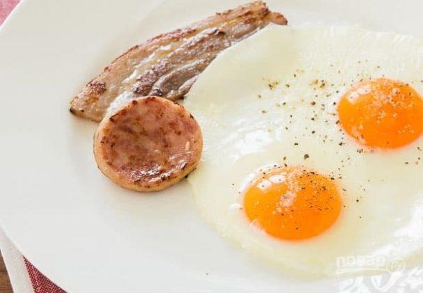 Глазунья к завтраку
