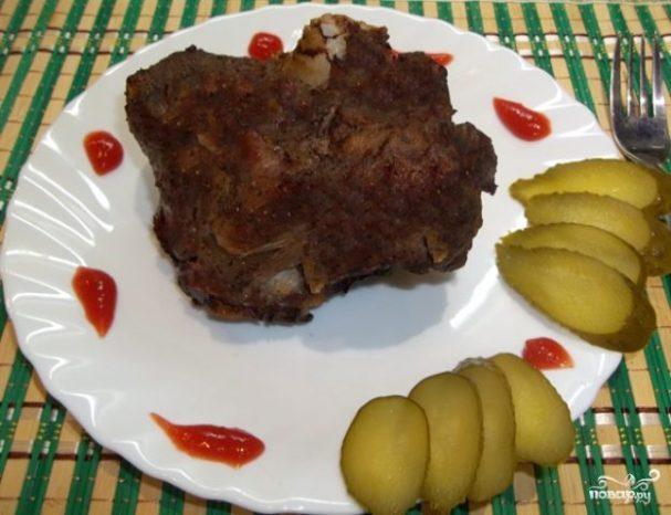 Мясо на кости в духовке