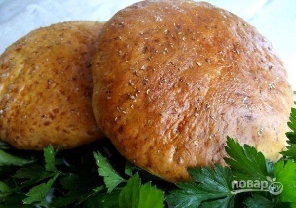 Лепешки с сыром в духовке
