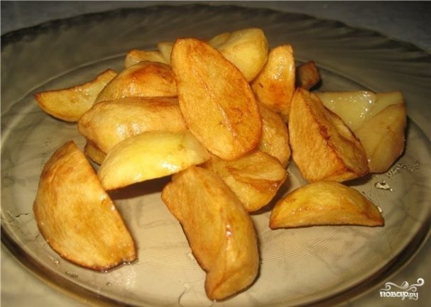 Картофель по-деревенски во фритюрнице