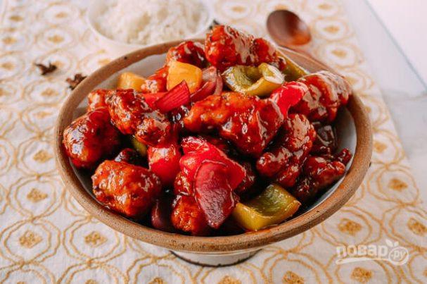 Габаджоу в кисло-сладком соусе