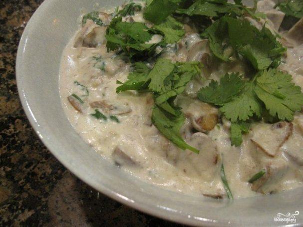 говяжий язык с грибами в сметанном соусе рецепты