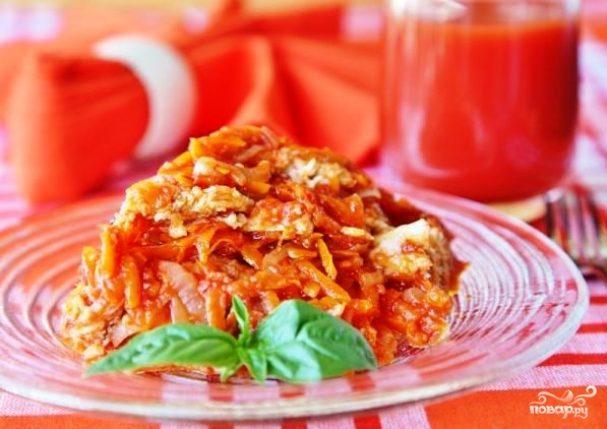 Маринад из моркови и рыбы