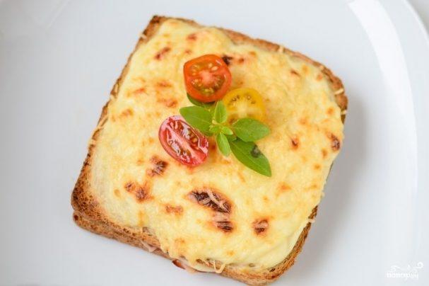 """Французские тосты """"Крок-месье"""""""