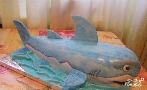 """Торт """"Акула"""""""
