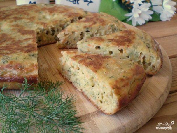 Пирог на кефире рецепты с капустой