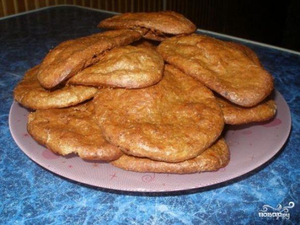 Печенье из отрубей и творога