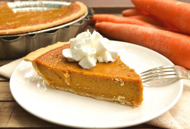 Пирог с морковью
