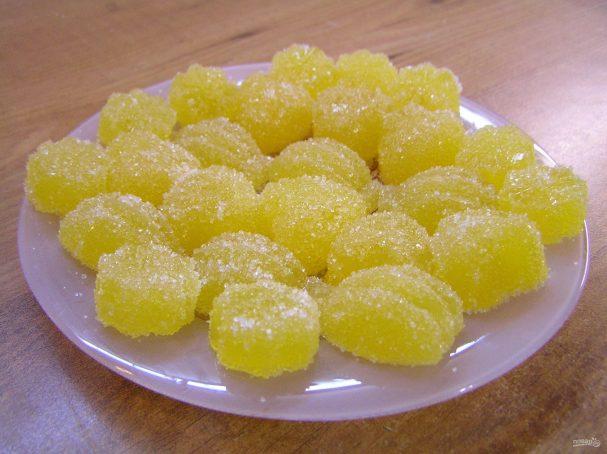 Домашний мармелад на желатине
