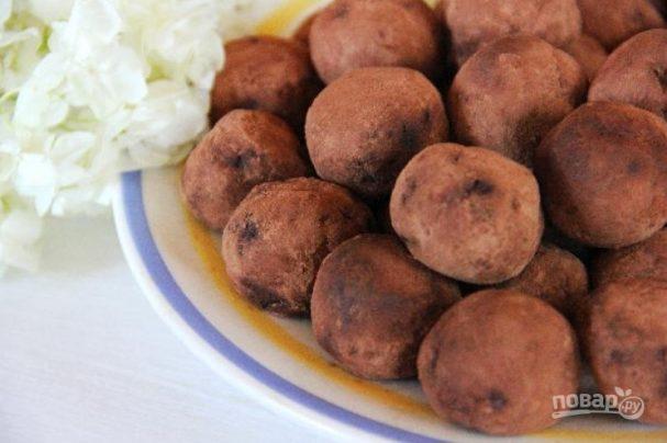 Трюфели из детского питания
