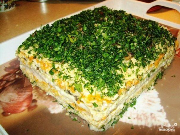 бутербродный торт рецепт с картинками
