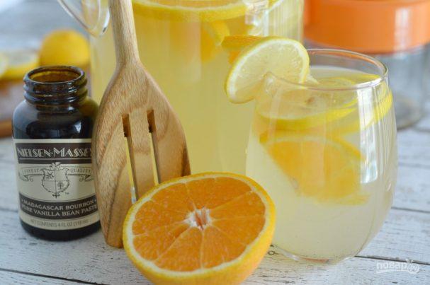 Домашний лимонад из лимона и апельсина