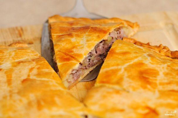 пирог из капусты с фаршем рецепт с фото