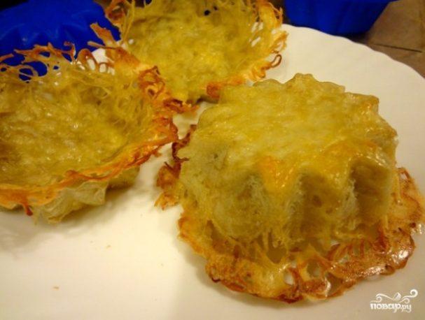 Тарталетки из картофеля