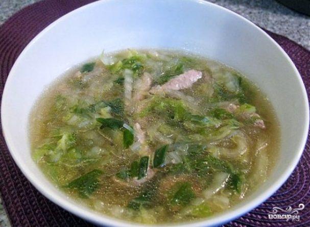 Суп в воке